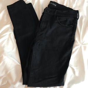 Black jean-legging